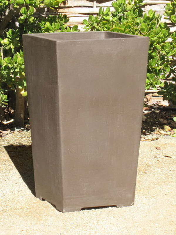 Yixing Clay Tall Square, Large Ceramic