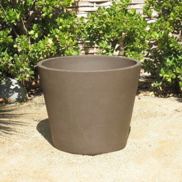 Yixing Clay Large Flared Planter Ceramic