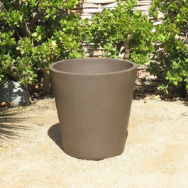 Yixing Clay Medium/Large Flared Planter Ceramic