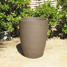 Yixing Clay Tall Rounded Planter Ceramic