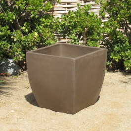 Yixing Clay Large Curved Square Ceramic