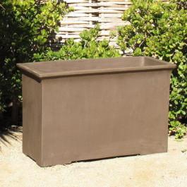 Yixing Clay Rectangular Box, Tall Ceramic
