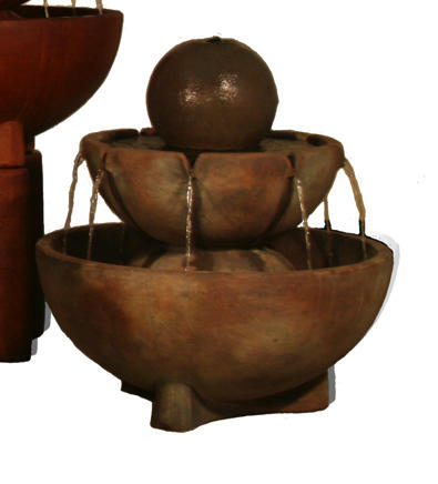 Large Sphere Stone Vessels Fountain