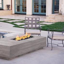 Fire Table - Concrete Rectangle