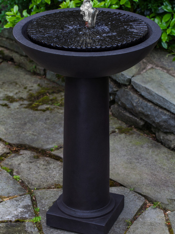 Equinox Birdbath Fountain