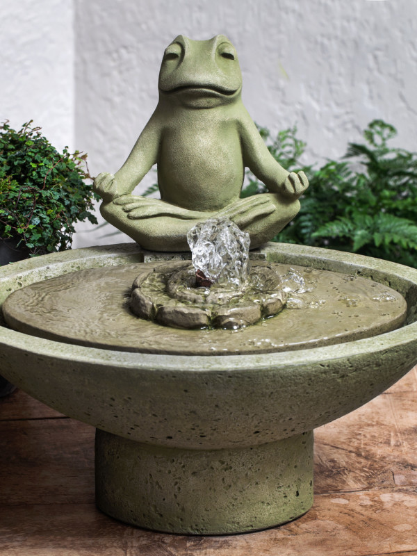 Garden Terrace Meditation Fountain