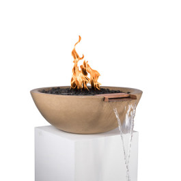 Fire Bowl - with Fountain Scupper