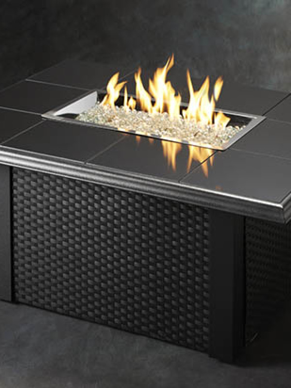 Fire Table - Black W