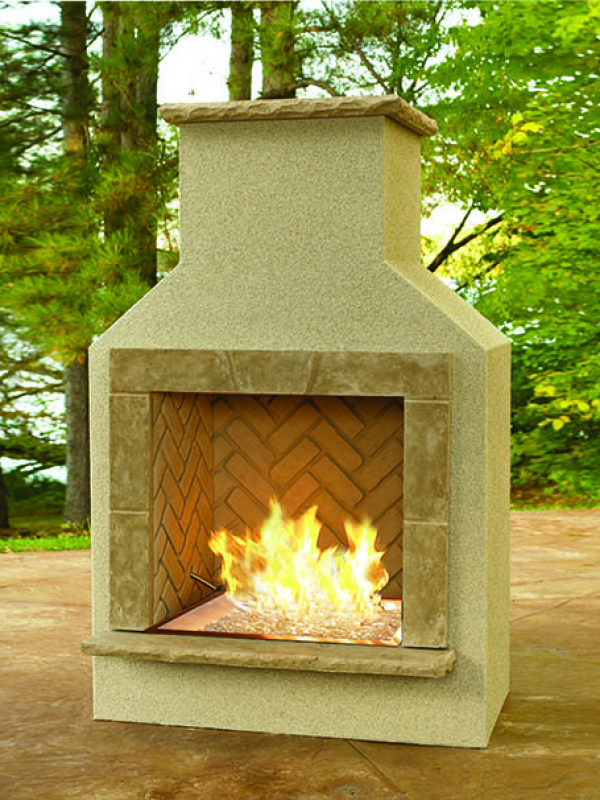 Fireplace - San Jaun burner
