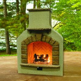 Fireplace - with Log Set