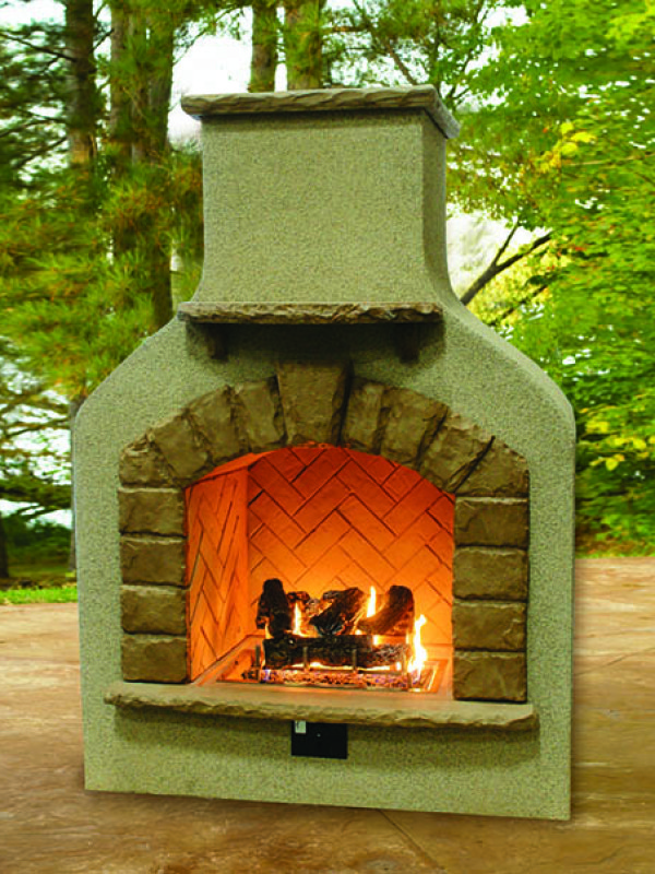 Fireplace - with Log Set