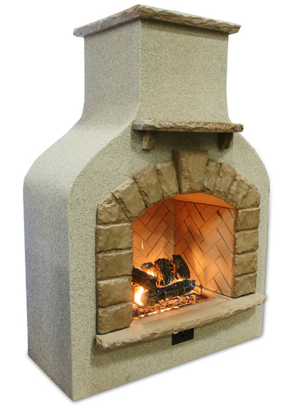 Fireplace - outdoor