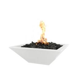 Fire Bowl - Shallow Square Fire Bowl