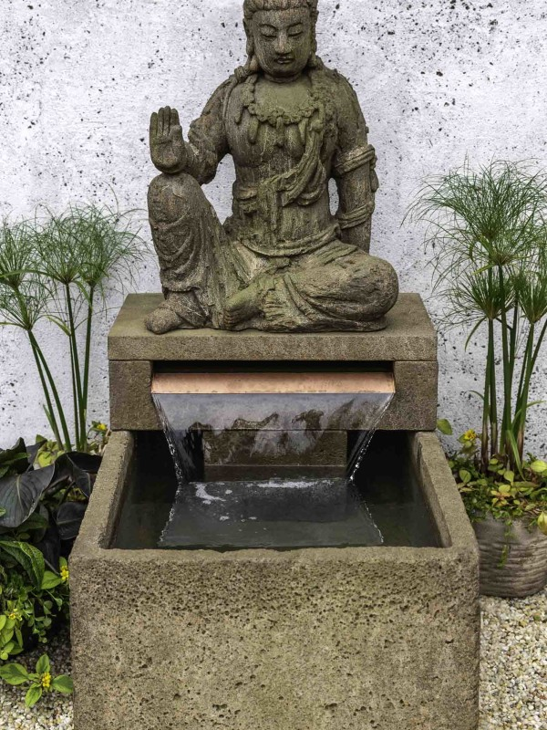 Antique Quan Yin Fountain