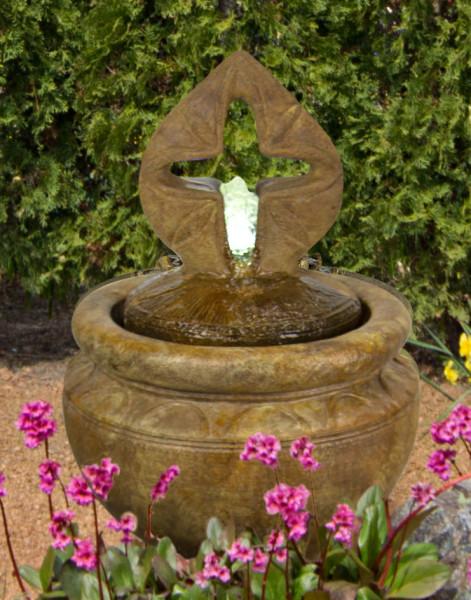 5332F2CRL-Antique-Cross-Bubbler-Fountain