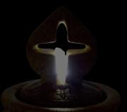5332F2x-Antique-Cross-Bubbler-Fountain—Night