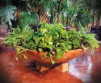 Cross Wok Planter