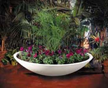 "Large Wok Planter (48"" wide or 60"" wide)"
