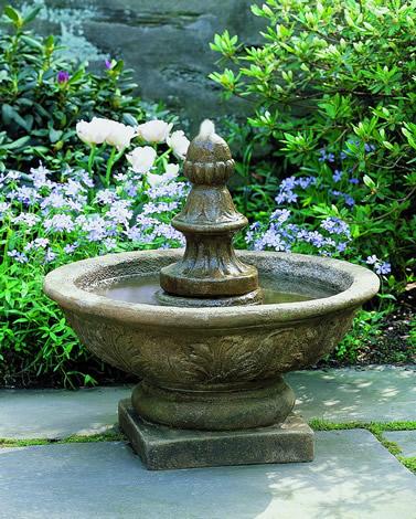 Vintage Bordine Finial Fountain
