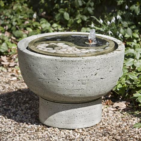 Yin Yang Pot Fountain (2pc)