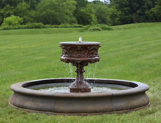 Smithsonian Morning Glory Urn Fountain