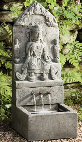 Temple Shrine Fountain (4pc)