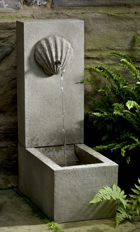 Shell Element Fountain