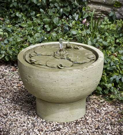 Lily Pond Fountain (2pc)