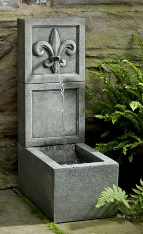 Fleur de Lis Element Fountain