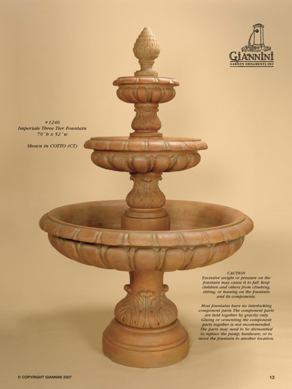 Imperiale Three Tier Fountain