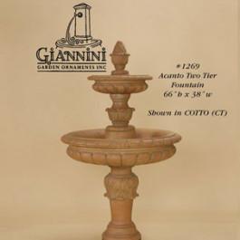 Acanto Two Tier Fountain