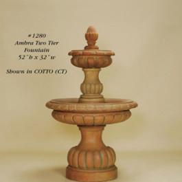 Ambra Two Tier Fountain