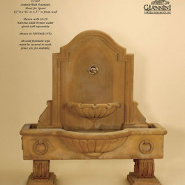 Anduze Wall Fountain Short for Spout