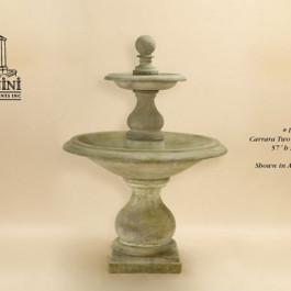 Carrara Two Tier Fountain
