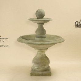 Carrara Ball Fountain