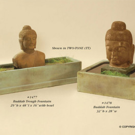Buddah Trough Fountain, Buddah Fountain