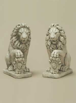 Lions with Shield