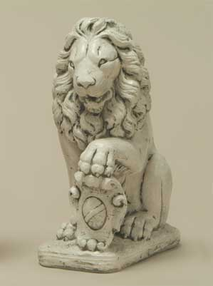 Lion with Shield, Left-Paw