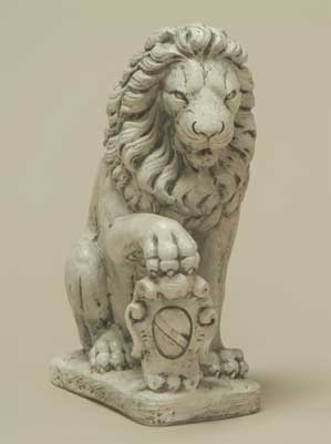 Lion with Shield, Right-Paw