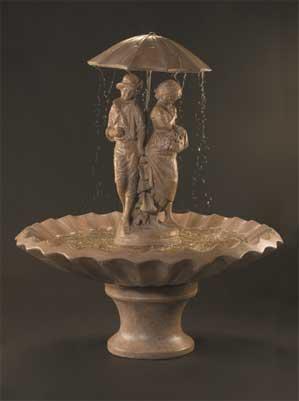 Springtime Fountain