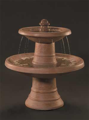 Spanish 2-Tier Fountain