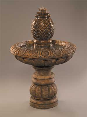 Romantica Fountain, (Short) w/Extra Large Pineapple