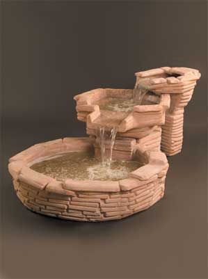 Flagstone Fountain