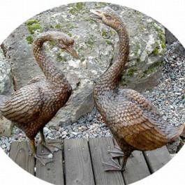 Geese Pair