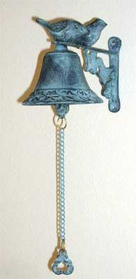 Lovebird Garden Bell