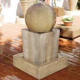 Block Ball Fountain