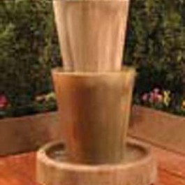 Bi-Level Jug Planter Fountain