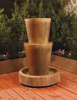 Bi-Level Jug Fountain