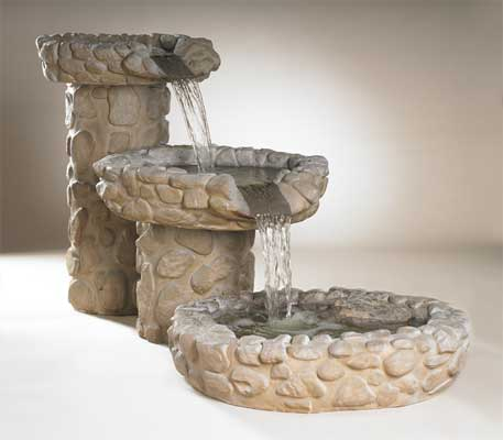 Cascade Waterfall Fountain, Small