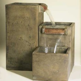 "3-Level ""Cube"" Fountain"